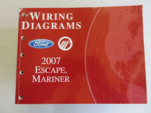 2007 ford escape mariner service manual electrical wiring Ford Escape Wiring Schematic