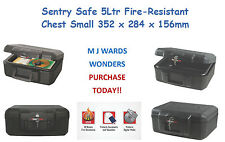 Sentry Safe 5Ltr Fire-Resistant Chest Small 352 x 284 x 156mm