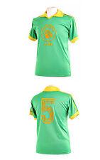 ZAIRE LEOPARDS 1974 WORLD CUP MWEPU ILUNGA NUMBER 5 FOOTBALL SHIRT XXL