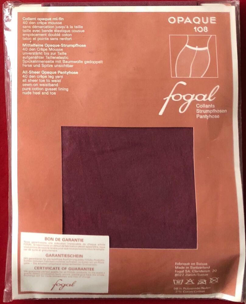 Fogal Opaque 108 Collants Collants Médoc Grand