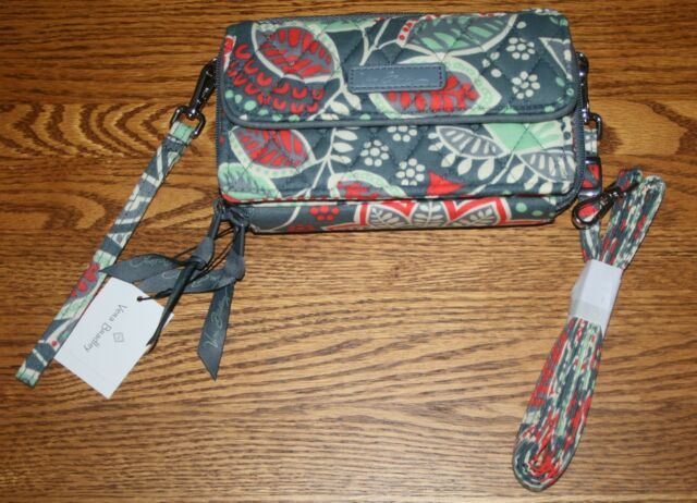 best service e8987 31673 Vera Bradley ALL IN ONE CROSSBODY WRISTLET iPhone 6+ PLUS iPhone 7+ iPhone  8+