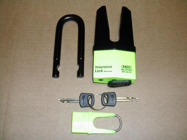 53//12-20//11 mm per ciclomotori Blocca Disco Abus Granit Quick 37//60 Mini