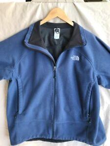 6354a02e1 Details about The North Face Windwall Fleece Men's XL Blue