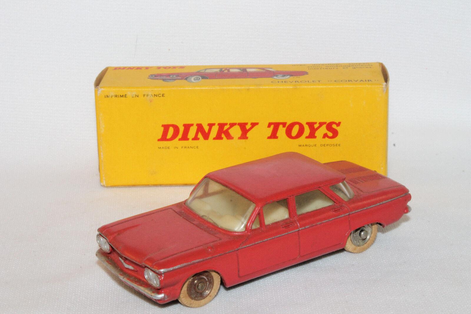 597ms Dinky 552 Chevrolet Corvair, Buen Estado en Caja