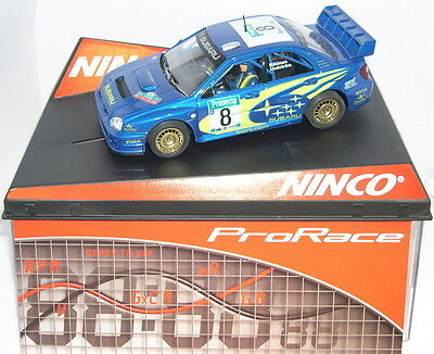 "Kinderrennbahnen Strong-Willed Ninco 50328 Slot Car Subaru Wrc #8 ""new Zealand"" ""03"" MÄkinen LidstrÖm Prorace Activating Blood Circulation And Strengthening Sinews And Bones"
