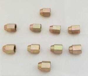 10x-Brake-Pipe-Fittings-Femelle-pipe-NUTS-12-mm-x-1-mm-Tuyau-3-16-BFF52