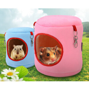 warm-bed-rat-hammock-squirrel-winter-toys-pet-hamster-cage-house-hanging-nest-Ll