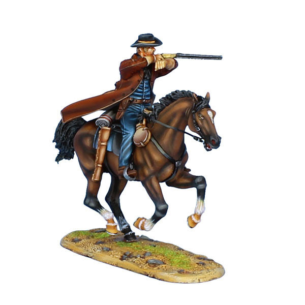 First Legion  WW007 Mounted Gunfighter med 1860 Henry Rifle
