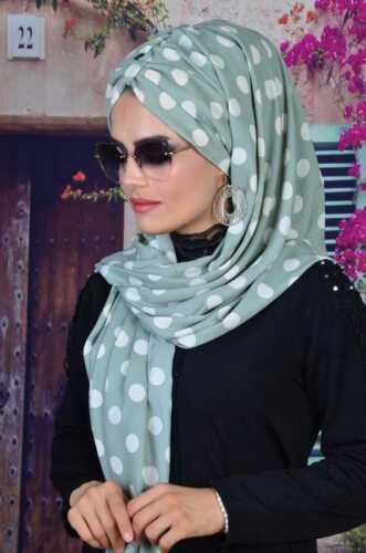 BD145 Fertig Kopftuch Hazir Bandana Türban Sal Tesettür Hijab Khimar