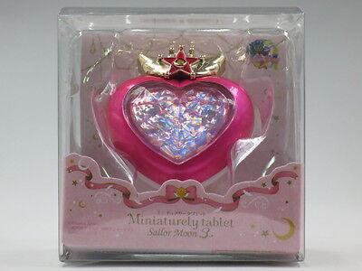 [FROM JAPAN]Miniaturely tablet Sailor Moon 3 Chibi Moon Compact Bandai