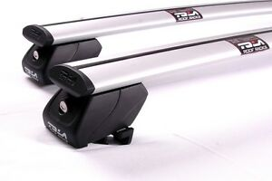 2xNEW-roof-rack-cross-bar-for-Mitsubishi-Pajero-sports-2015-19-to-flush-rail