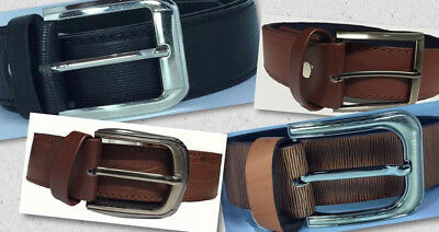 Men/'s 100/% Genuine Leather Fashion Belt UPS1673