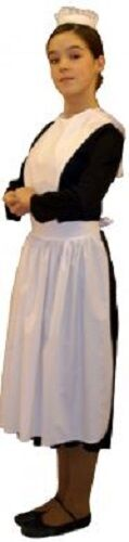 World Book Day-Show-Victorian-Ladies-JASMINE HOUSE MAID Costume Girls All Ages