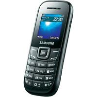 Cheapest Basic Mobile Phone for any network Samsung GT E1200 - Black (Unlocked)