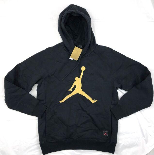 Nike Jordan X OVO Drake Black Gold Sweatshirt