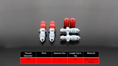 2003-2006 39x4 Bleed Screws//Nipples Porsche Carrera GT Front Brembo Calipers
