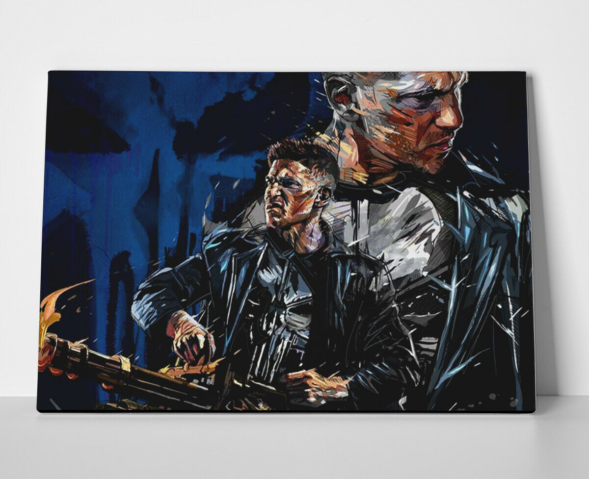 The Punisher Poster or Canvas