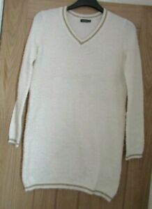 NEW-IVORY-JUMPER-DRESS-SIZE-12-14-24-26-AVAILABLE
