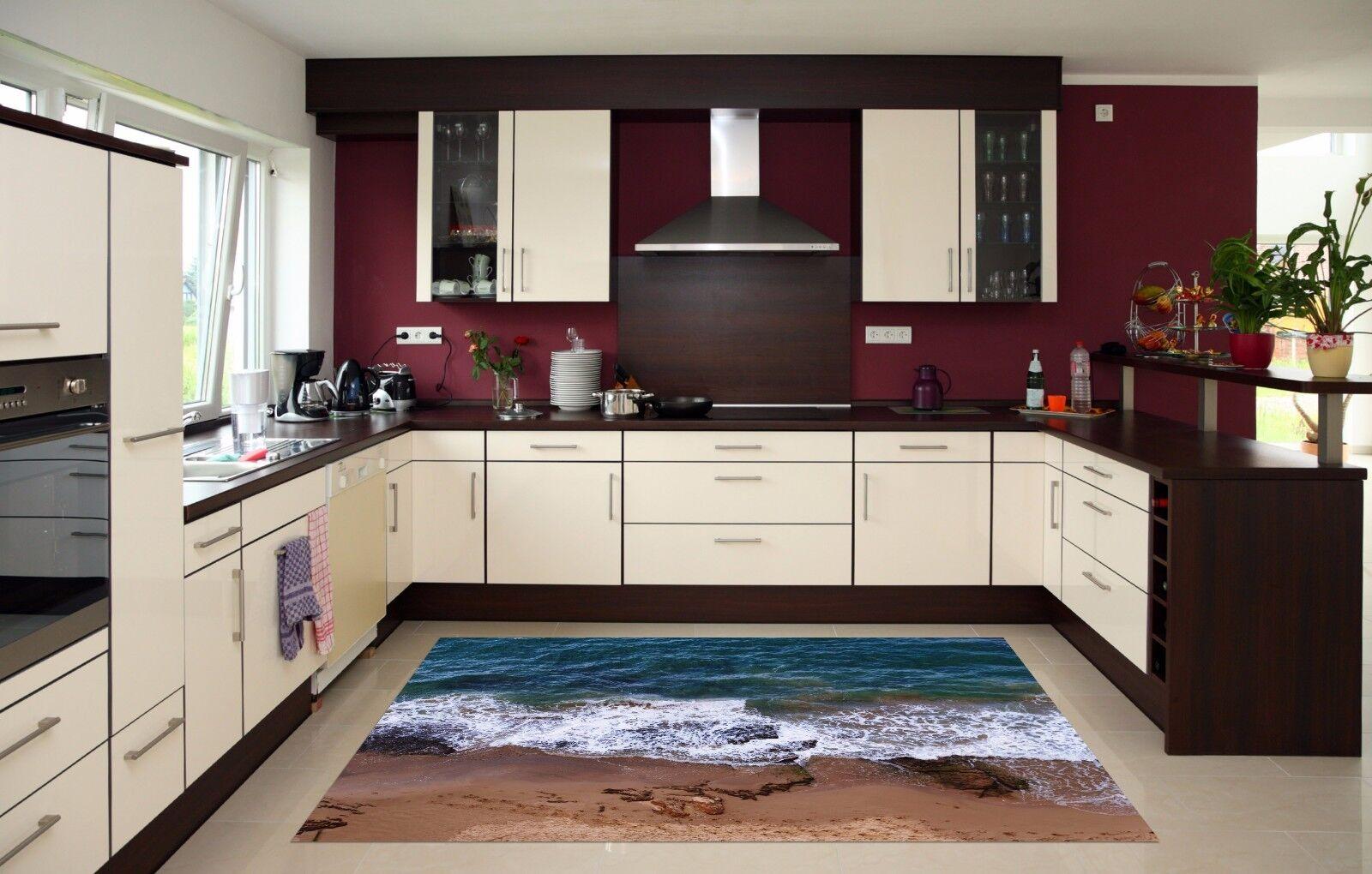 3D Beach Water225 Kitchen Mat Floor Murals Wall Print Wall Deco AJ WALLPAPER UK