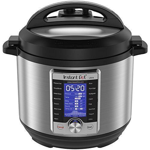 Instant pot Ultra 10 en 1 multi usage autocuiseur vapeur Warmer stérilisateur