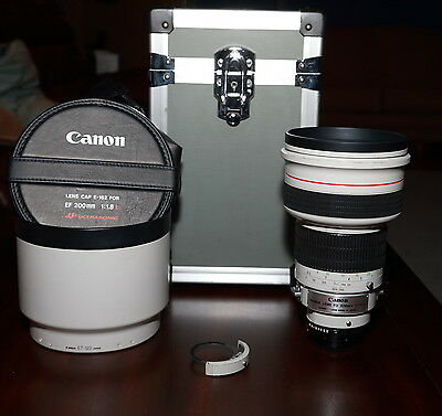 SUPER RARE EX+++ Canon FD 200mm 1 8L f 1 8 200 f1 8 FD MANUAL COLLECTOR lens