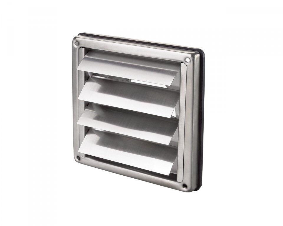 Aluminium-Gitter 125mm, mit selbstschließender Jalousie, Produziert in Europa     | Clever und praktisch  | Professionelles Design  | Günstige Preise