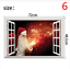 thumbnail 6 - 3D Merry Christmas Wall Decals Removable Window Stickers Decor DIY Art Xmas  *
