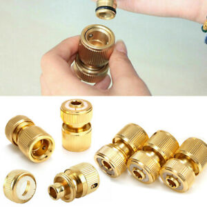 1-2-034-Water-Tap-Hose-Pipe-Connector-Adapter-Fitting-Brass-Quick-Connect-Garden