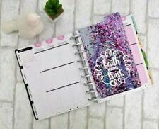 Faith Requires Trust Disc Bound Planner Dashboard Confetti Purple Fun Top Tab