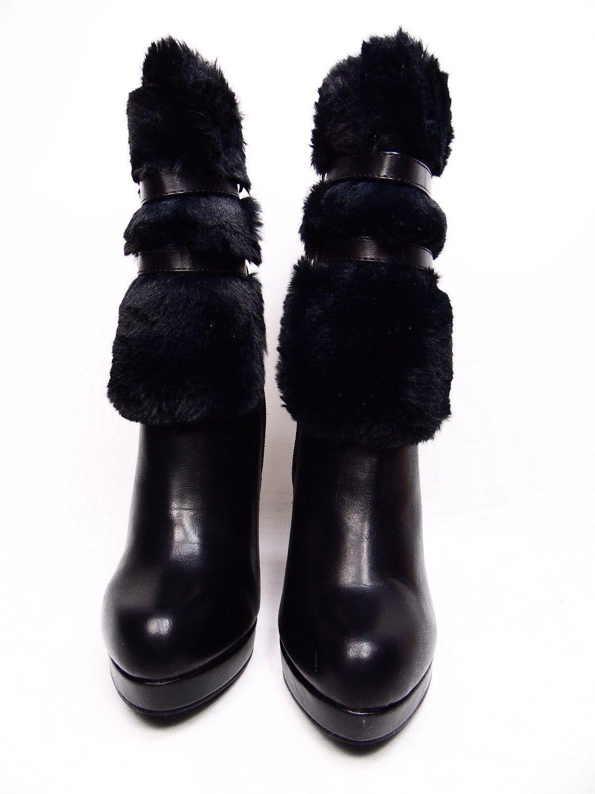 Olivia Miller Booties Women's Nevins  High-heel Booties Miller Black Size 7.5 9f557b