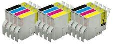 12 x Tinten Patronen für Epson Stylus C82 CX5200 CX5400 - BK/C/M/Y