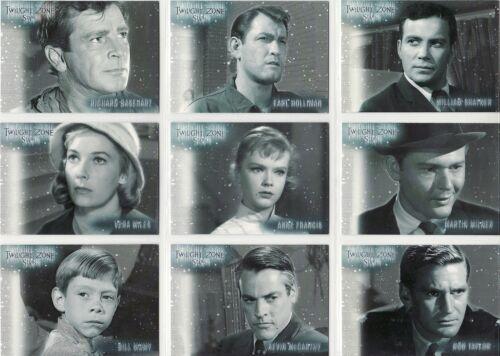S9 Twilight Zone Series 1 Stars 9 Card Chase Set S1