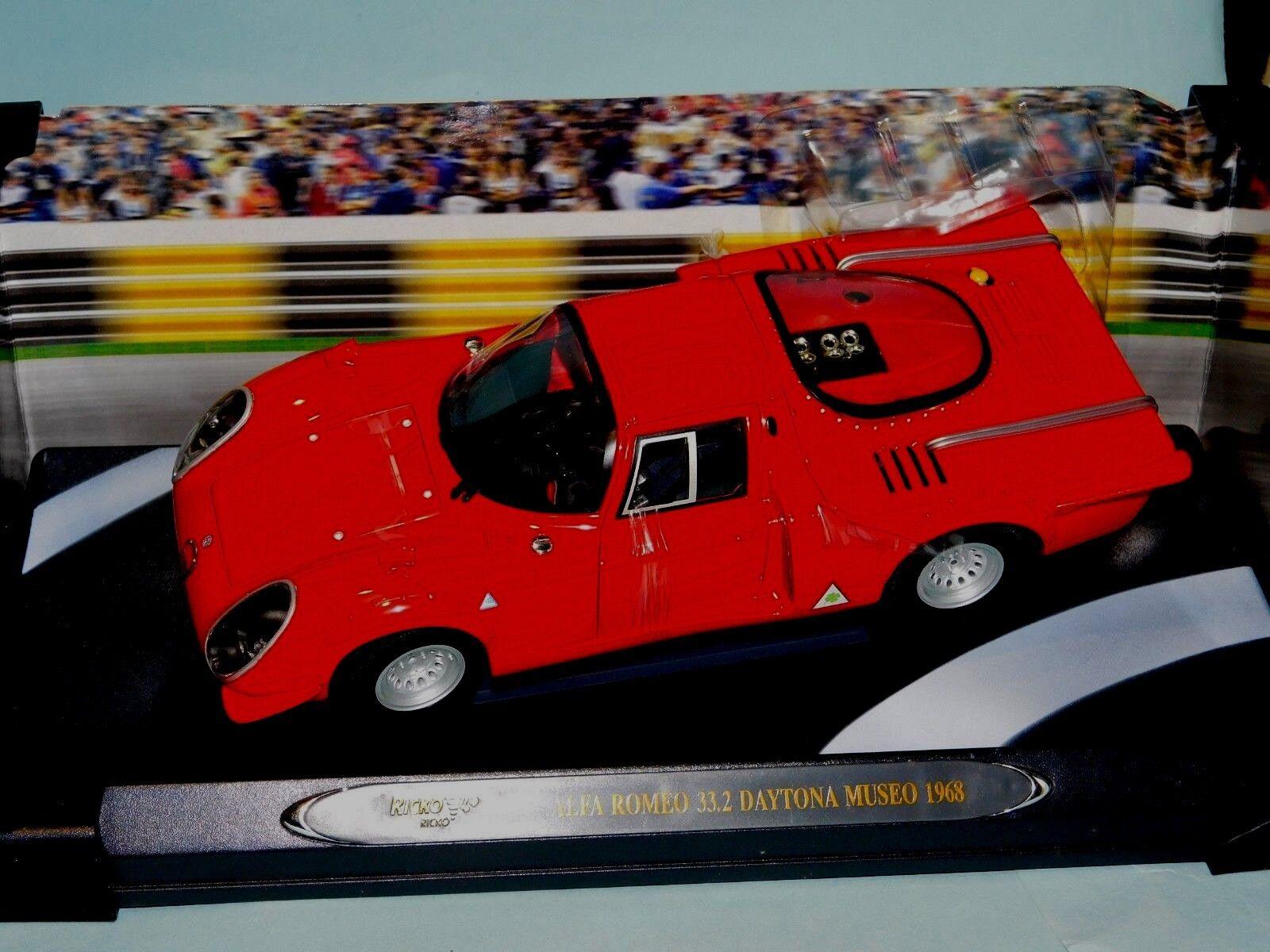 Alfa Romeo 33.2 Daytona Coupe Museo 1968 rosso Ricko 32143 1 18