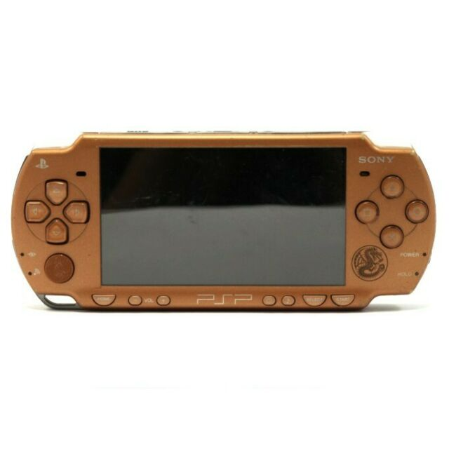 PSP - console Slim 2000er #Monster Hunter Limited Edition + power supply