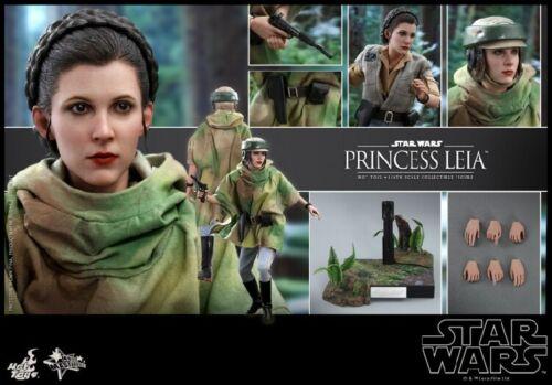 Hot Toys MMS549 1//6 Star Wars Return of the Jedi Princess Leia Organa Figure
