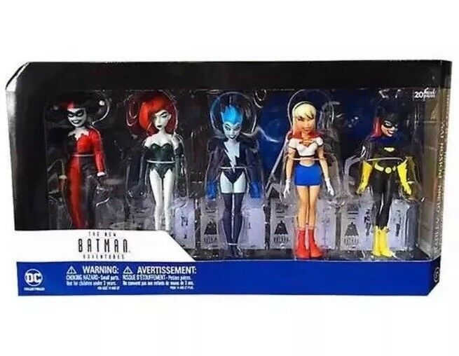 Batman Girls Night Out - DC Collectables Adventures 5 Figure Set -  New&Sealed
