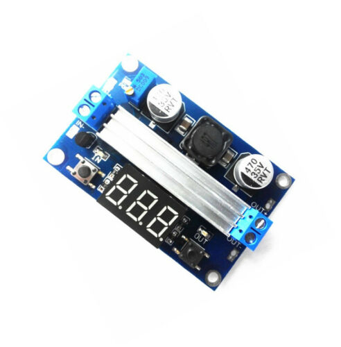 2x  100W 3-35V 12V to 3.5-35V Boost Step-up Module Power Supply LED Voltmeter