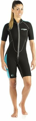 Cressi Lido Women/'s Premium Neoprene 2 mm Shorty Wetsuit