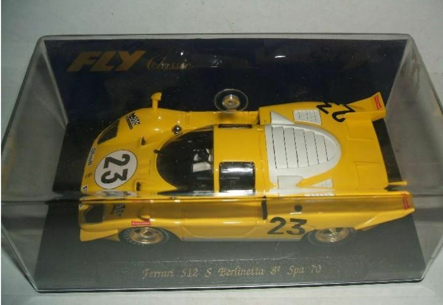 Scalextric Fly Ferrari 512 S Spa 2018 . - C22