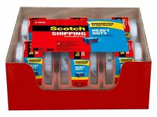 Scotch Heavy Duty Shipping Packaging Tape 188 Inches X 800 Inches6 Rolls