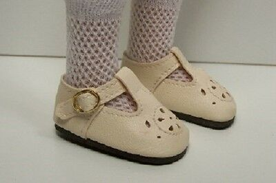 LT PINK Heart Cut-Outs Doll Shoes For Hopscotch Hill Collection Debs