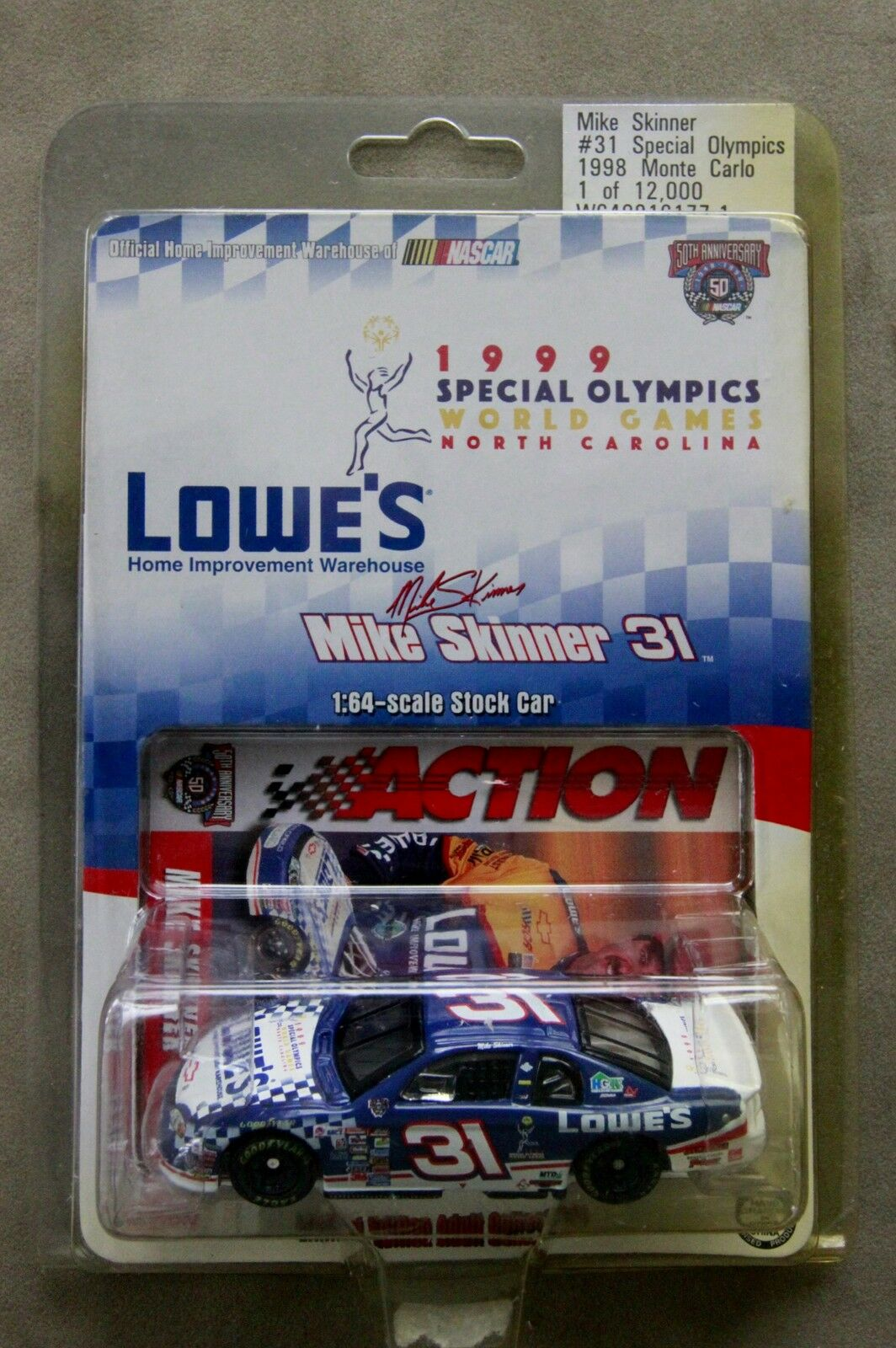 RACING ACTION COLLECTABLES - MIKE SKINNER SKINNER SKINNER  LOWE'S     INV-RH be72bb
