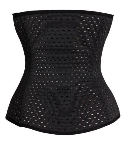 Women Waist Training Body Shaper Tummy Wrap Girdle Belt Belly Fat Burner Corset