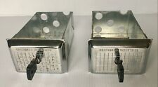 New Listing2 Greenwald Washer Dryer Speed Queen Coin Boxes 6 08080 Keys