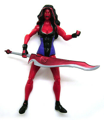 Marvel Legends Incredible Hulk Red She-Hulk She Hulk Loose Action Figure