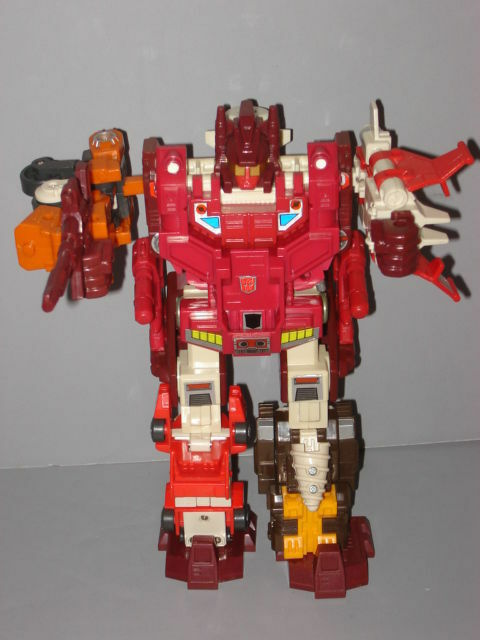 G1 TRANSFORMER TECHNOBOTS COMPUTRON COMPLETE PROF CLEANED LOT