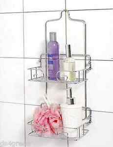 Image Is Loading Bath Shower Caddy Organizer Accessories Toiletries Holder Cad