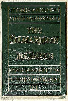 SILMARILLION Tolkien GILT & LEATHER BOUND Easton Press NEW & UNREAD