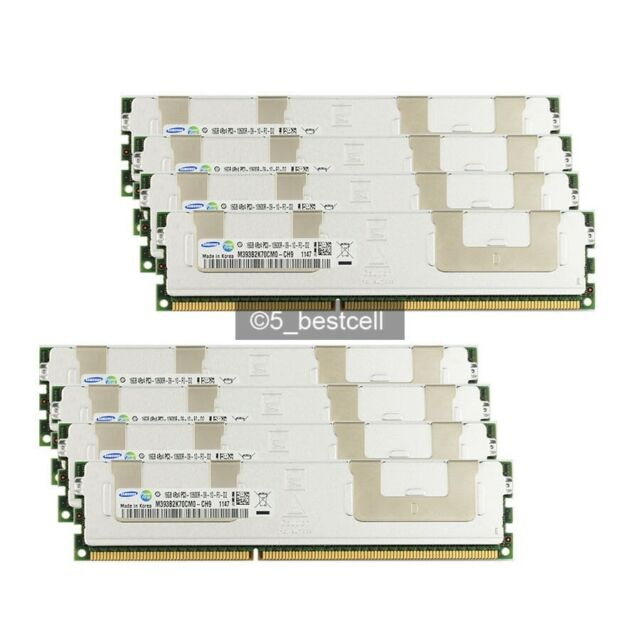 16GB 32GB 64GB 96GB DDR3 4RX4 PC3-10600R 1333 Mhz 240Pin ECC Reg RAM Servidor Lote