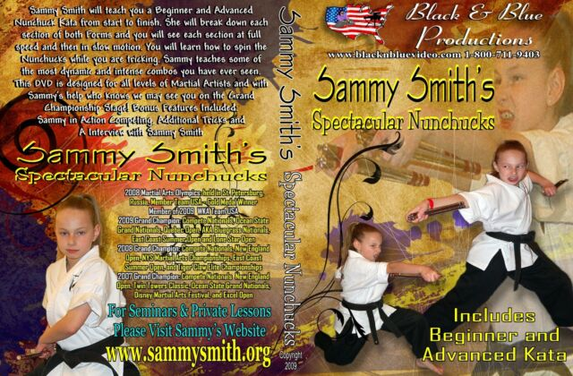 Sammy Smith's Spectacular Nunchucks Instructional DVD Beginner/Advanced Kata
